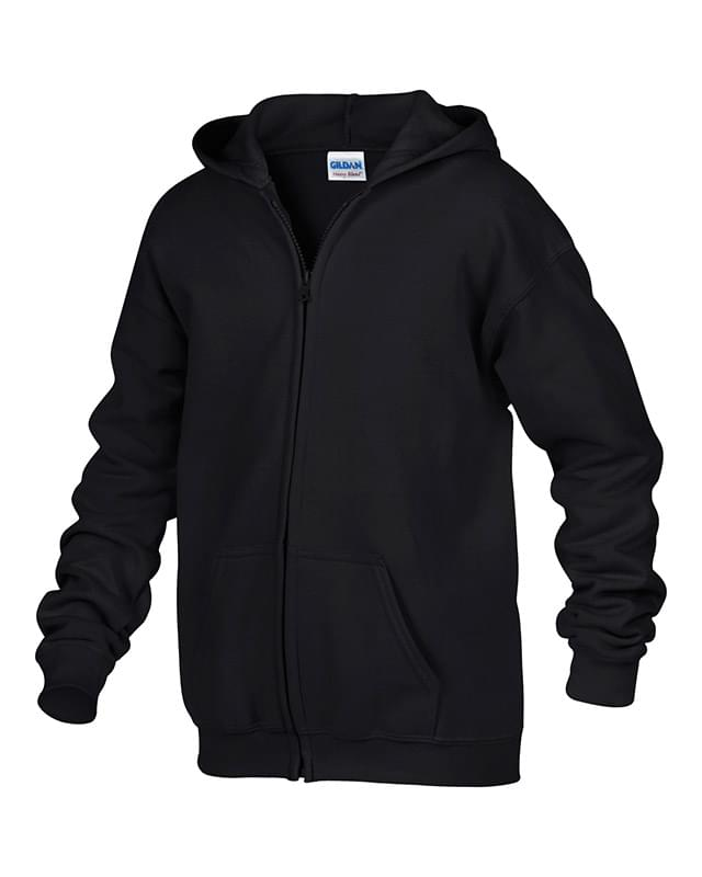 GILDAN® HEAVY BLEND™ FULL ZIP HOODED YOUTH SWEATSHIRT